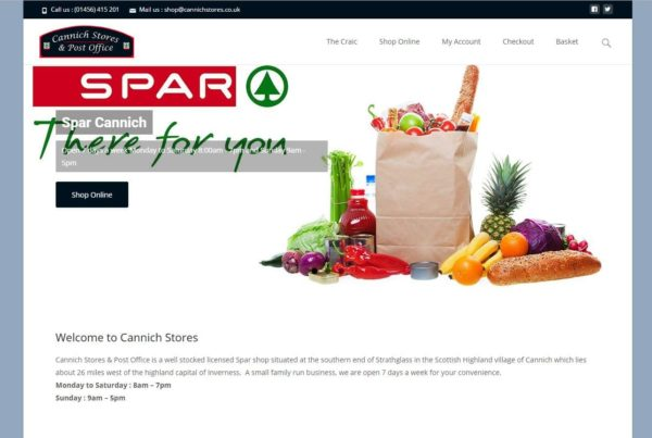 spar website screenshot